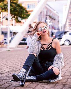 Flavia Koloske - Bota glitter