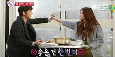 """Yura Wishes Hong Jong Hyun Would Be More Touchy with Her in """"We Got Married"""""""