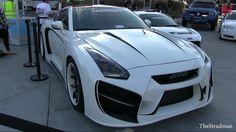 "Completely Custom ""Radzilla"" Nissan GTR R35!"