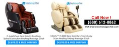 Buy Zero Gravity massage chair online on Easy Massage Chair. Check all zero gravity massage chairs and compare features to buy the best. 100% money back guarantee.