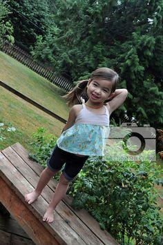 Modkid Baby Hannah crop top