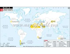 Buy yellow river and yellow sea location map online world map world map with top ten largest desert gumiabroncs Images