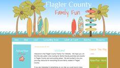 Custom Blog Design - Flagler County Family Fun