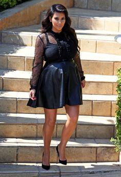Kim Kardashian maart 2013