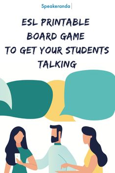Printable board game to get your students talking in present simple and present continuous Printable Board Games, Learn English, Teacher Resources, Need To Know, Infographic, Students, Language, Presents, How To Get