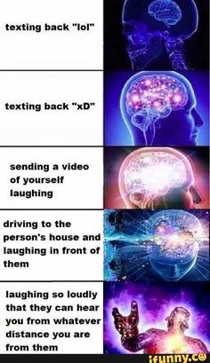 38 Hilarious Expanding Brain Meme to give your Brain a Laugh Dose - sFwFun All Meme, Stupid Funny Memes, Funny Relatable Memes, Haha Funny, Hilarious, Funny Stuff, Random Stuff, Memes Humor, Expanding Brain Meme