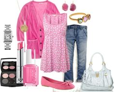"""Pink Lady"" by alison-louis-ellis on Polyvore"