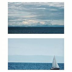 50 shades of blue sky  #sea #water #blue #sky #outdoors #italy #beach #sailingboat #boat #ship #sailing #horizon #freshness #photo #photograpy #myphotograpy