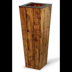 vaso de madeira 4 utilidades