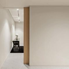 Minimalist Home Interior, Modern Minimalist, Wooden Sliding Doors, Wooden Door Design, Minimal Home, Pocket Doors, Door Locks, Painted Doors, Future House