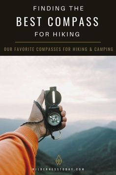 Check out our favorite compasses for hiking, camping & more with this detailed guide. #Hiking #HikingGear #OutdoorGear #Outdoors #DayHikes #CampingGear