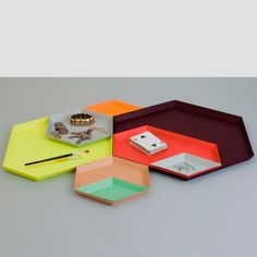 main image of Kaleido Trays...very cool trays, they come in all diferent colors and fit together lots of diferent ways!