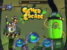 Appidemic: Sewer Escape for iPhone, iPod touch and iPad