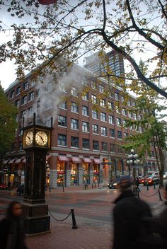 gastown, a few blocks away from the Delta Vancouver Suites