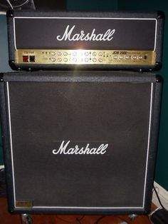 Marshall JCM2000 TSL-100 Half-Stack My main amp setup for the last 12 years. Been extremely happy with it.