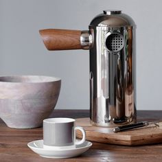 Inspired take on the traditional stovetop espresso makers #FathersDay