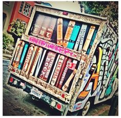 I think it would be so awesome to work a bookmobile