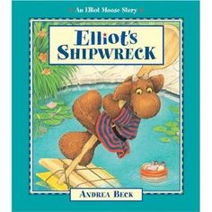 Elliot's Shipwreck, written by Andrea Beck Shipwreck, Moose, Writing, Education, Pdf, Tutorials, Mousse, Onderwijs, Being A Writer