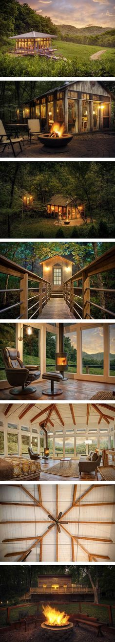 With the holiday season in full effect, dreams of wood cabin vacations are on…