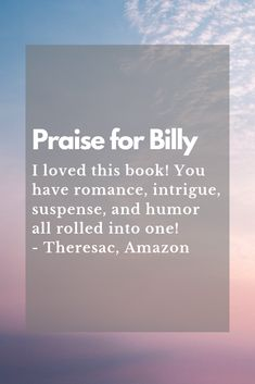 Read more of your sassy heroine in Billy, Book 5 in the Chanel Series. Discovery News, Sign I, Read More, Sassy, This Book, Romance, Thankful, Chanel, How To Get