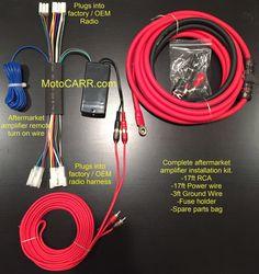Toyota Lexus Factory Radio Add an Amplifier Interface Harness + 1000 Watt Amp Kit CCA wires