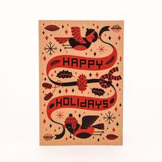 Christmas card designed by Kristyna Baczynski. She is too awesome for words!  www.kristyna.co.uk