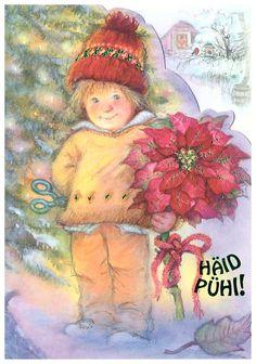 Lisi Martin, Christmas folding card 10 x 15, Estonia