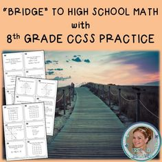 Students will review all major eighth grade math topics as outlined in the Common Core State Standards. These 60 task cards cover all standards and provide a thorough review of the eighth grade curriculum. Each task card is labeled with the corresponding CCSS. Perfect for standardized test prep, finals review, and high school math preparation practice during the summer and fall. All problems have been created such that no calculator is necessary. Created by Free to Discover.