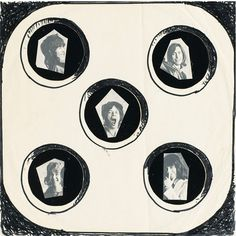 Rolling Stones cover for Exile on Main Street (never used), Man Ray