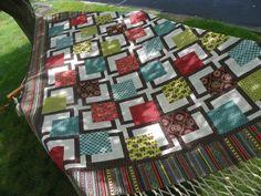 BQ Maple Island quilt pattern - got at Cloth & Bobbin