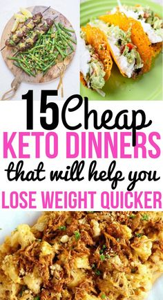 Cheap keto meal plan for easy dinner recipes the whole family will love! These recipes contain chicken breasts, ground beef, and more cheap ingredients. They are perfect for keto diet beginners who are on a strict budget. Try these gluten-free keto m Ketogenic Diet Meal Plan, Ketogenic Diet For Beginners, Diet Plan Menu, Diet Meal Plans, Ketogenic Recipes, Diet Recipes, Healthy Recipes, Food Plan, Paleo Diet