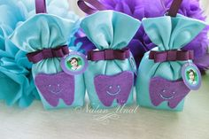 First tooth party gifts Pj Party, Party Gifts, Felt Crafts, Diy Crafts, First Tooth, Room Mom, Beauty Tutorials, Headbands, Teeth