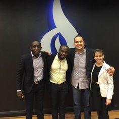 Alegria em Conhecer o Filho do Embaixador da Angola - Martin Neto - e meu Amigo Edvaldo - Tempo de Qualidade em Londres