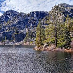Hiked up to Eagle Lake near Emerald Bay Park at Tahoe Lake. Whis lake is on the mountain which produces amazing waterfalls just downstream  #laketahoe #eaglelake #theamazingadventures #cheerstotravels