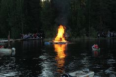 Bonfire - midsummer celebration 2012 by VisitLakeland, via Flickr Celebration, Scenery, Explore, Landscape, Paisajes, Nature, Exploring