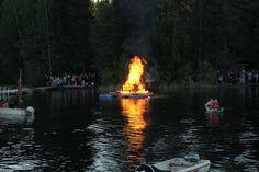 Bonfire - midsummer celebration 2012 by VisitLakeland, via Flickr