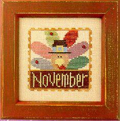 Flip-It Stamp November - Cross Stitch Pattern done:)