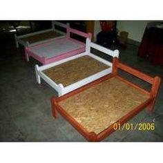 modelos de camas de madera para perros - Buscar con Google