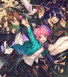 Division All Stars ヒプノシスマイク(Matenrou Hypnosis Mic) HypMic (ヒプマイ) Anime Art Girl, Anime Guys, Manhwa, Osaka, Aldnoah Zero, Anime Group, Boy Illustration, Rap Battle, Anime Kawaii