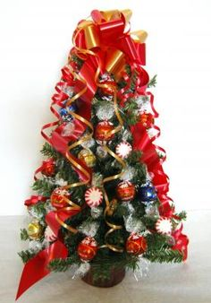 Christmas Candy Bouquet Truffle Candy Christmas Tree