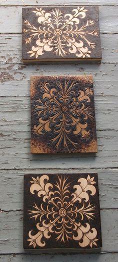 wood burning by Cecilia Galluccio
