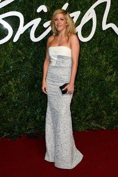 Pin for Later: Les Stars Se Sont Mises Sur Leur 31 Pour Les British Fashion Awards Ellie Goulding en Roland Mouret