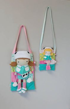 Carry Bag with Pillow for Studio Doll 15. Bag and Bed