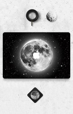 Moon Skin Sticker Cover For Mac Computer
