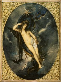 Nyx, Night Goddess by Gustave Moreau (1880).jpg