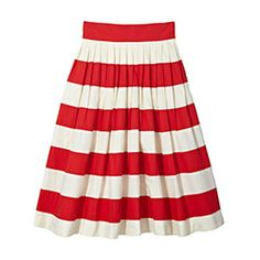 Striped Skirt The A-line style has long held the title as the world's most universally flattering skirt, but eShakti takes things one glorious step further: As you check out, you can list your height and customize the length, creating a fit that's specifically tailored to your body. $73 | eShakti.com