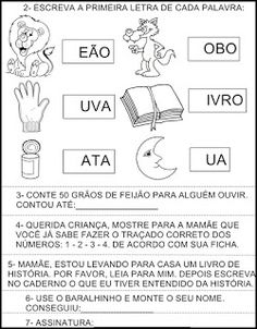 Complete com a letra L Nara, Words, Professor, Language Activities, Sight Word Activities, Kids Learning Activities, Note Cards, Teacher