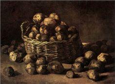 Basket of Potatoes - Vincent van Gogh