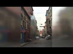 El increíble derrumbe de un edificio en Turquía