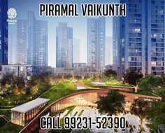 Piramal Vaikunth Thane is New Residential Project at Thane Mumbai. Piramal Vaikunth Thane offers Exclusive 2 and 3 bedroom residences in Thane. Property Prices, New Property, Luxury Apartments, Luxury Homes, North Tower, Real Estate Agency, Real Estate Development, Four Seasons Hotel, Gated Community